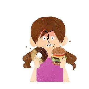婦女誰燒毀的飲食