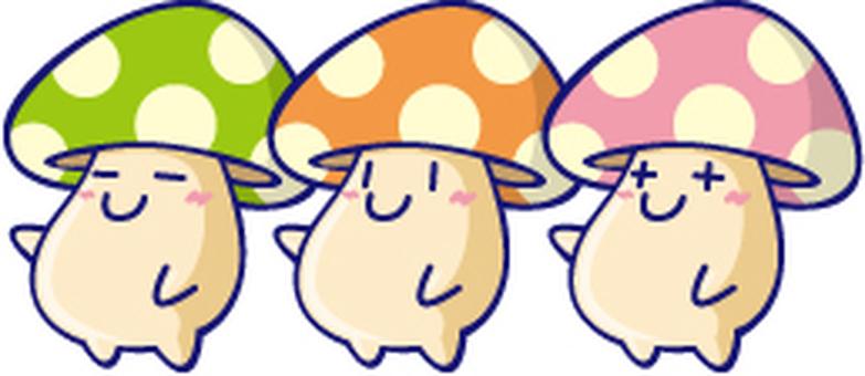 Mushroom 3 Brothers