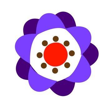 Purple flowers 6