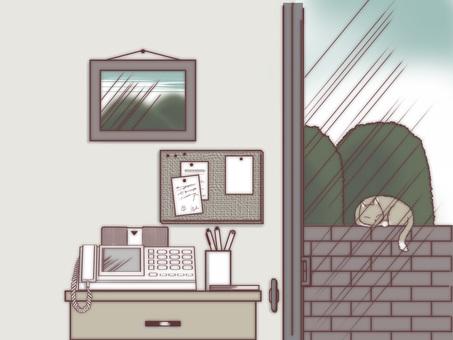 창가의 풍경 02