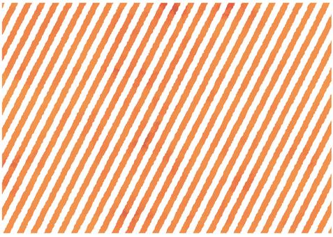 Orange water color diagonal border