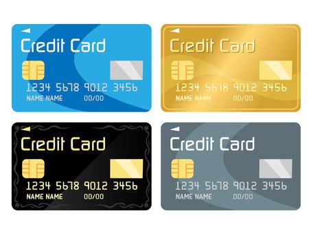 四張信用卡