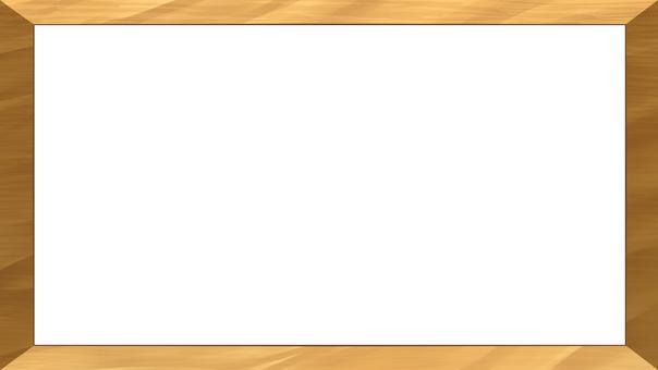 Wood grain frame (bright)
