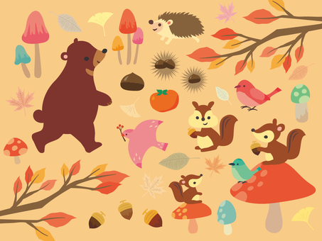 Fall illustration collection (2)