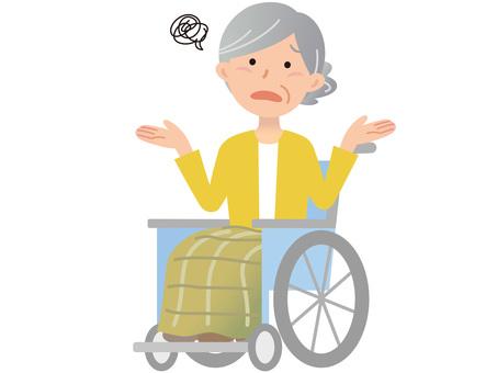 60120. Female wheelchair, Moyya Yoya