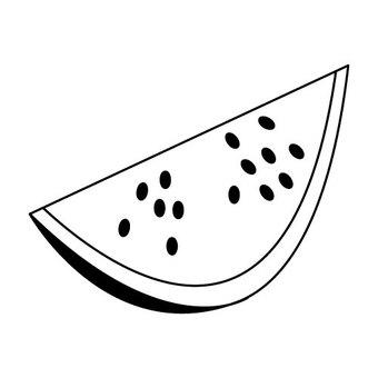 Watermelon (radiation monochrome)