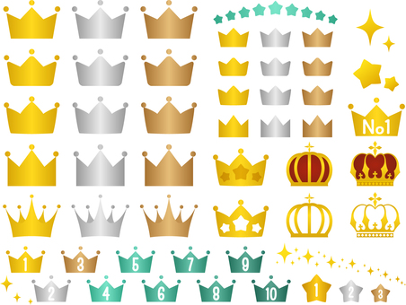 왕관 그라데이션