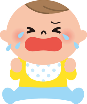 Baby (crying)