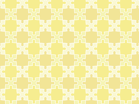 ai yellow puzzle background with swatch pattern