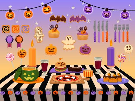 Halloween illustration 04