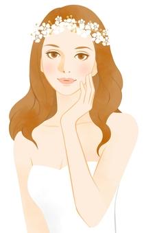 A woman wearing a tiara 1