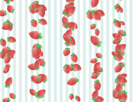 Strawberry stripe (light blue)