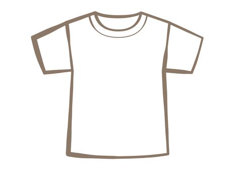 T-shirt-white 190706