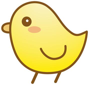 小雞的圖標