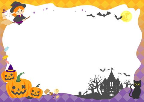 Halloween frame 03