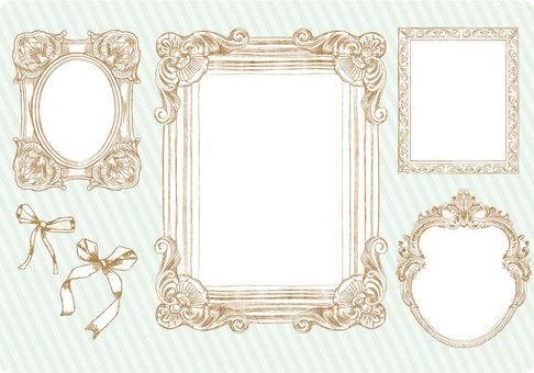 Girly frame frame