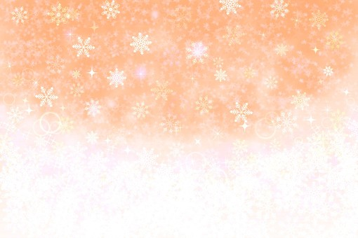 Snow background 3 Orange