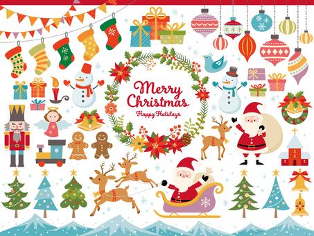 聖誕節插圖集