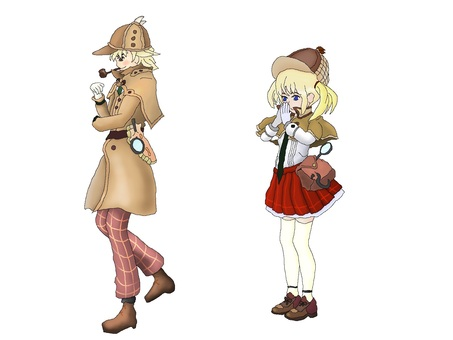 Name detective Sherlock Holmes [fairy tale series]