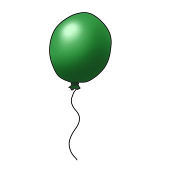 Balloon - green