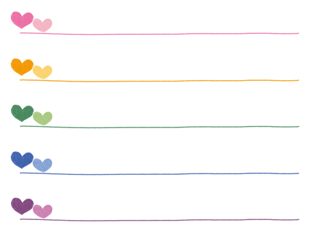 Handwritten line heart