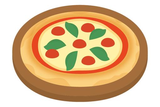Pizza tomato pizza