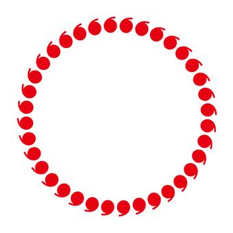 Circular material - 72