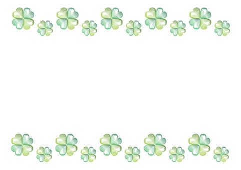 Glitter Clover 【Decorative Ruling】