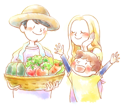 농부 가족