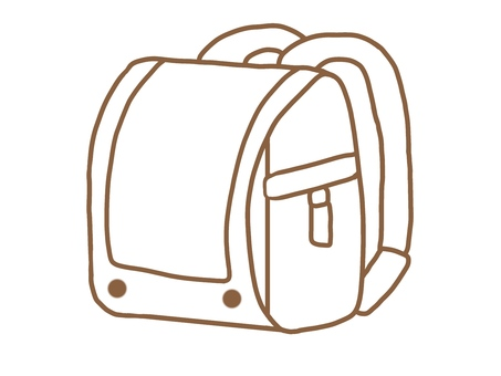 School bag (monochrome)