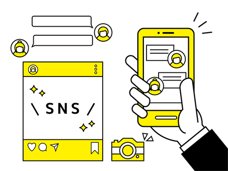 SNS image Yellow Black