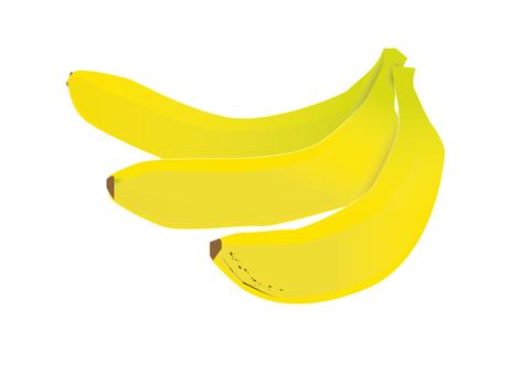 바나나 3 개