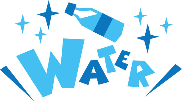 WATER water water pop logo