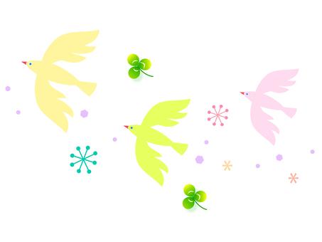 メルヘンの鳥