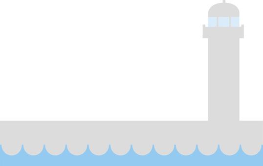 Breakwater / Lighthouse