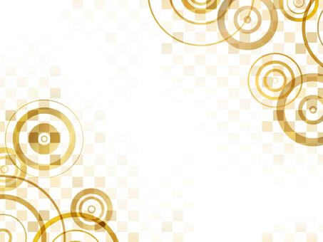 "Ripple checkered ""gold"""