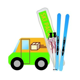 Ski goods delivery