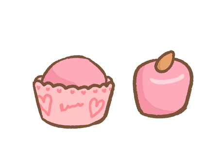Simple Strawberry Chocolate Set