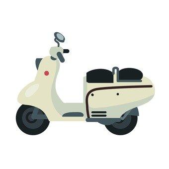 滑板车(白色)