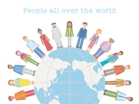 地球上の人々