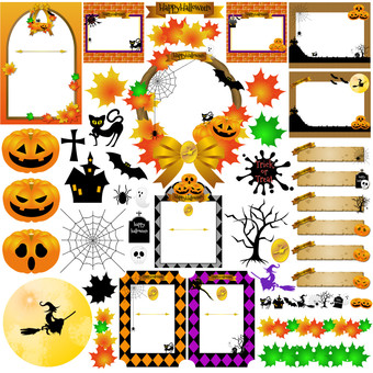 Halloween material summary 3