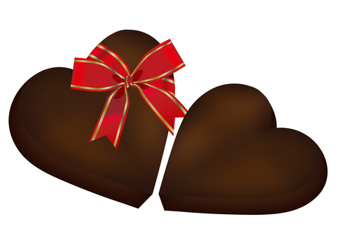 Heart chocolate 11