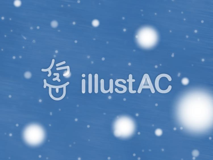 雪降る背景のイラスト