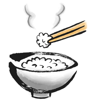 Cooked rice 2
