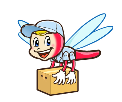 Transporter character of red dragonfly
