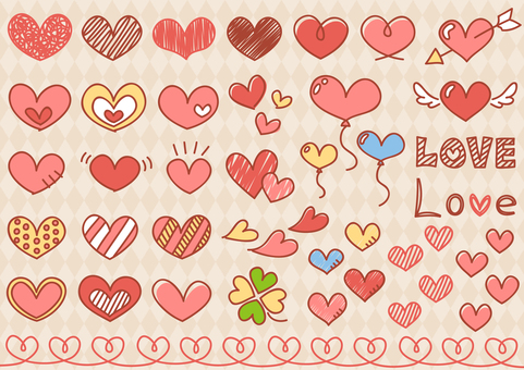 Heart material 4