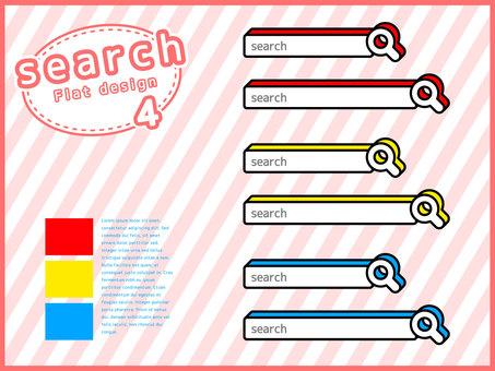 Search window material set <04>