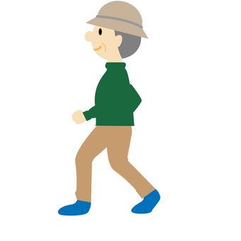 Walking ①