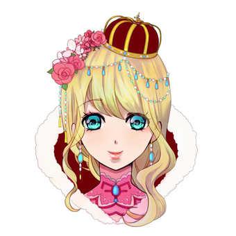 Girl icon F