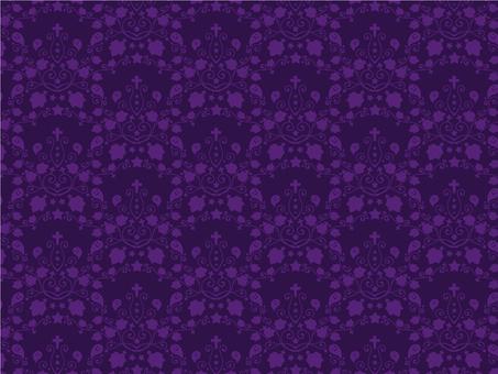 Halloween 5_ pattern purple